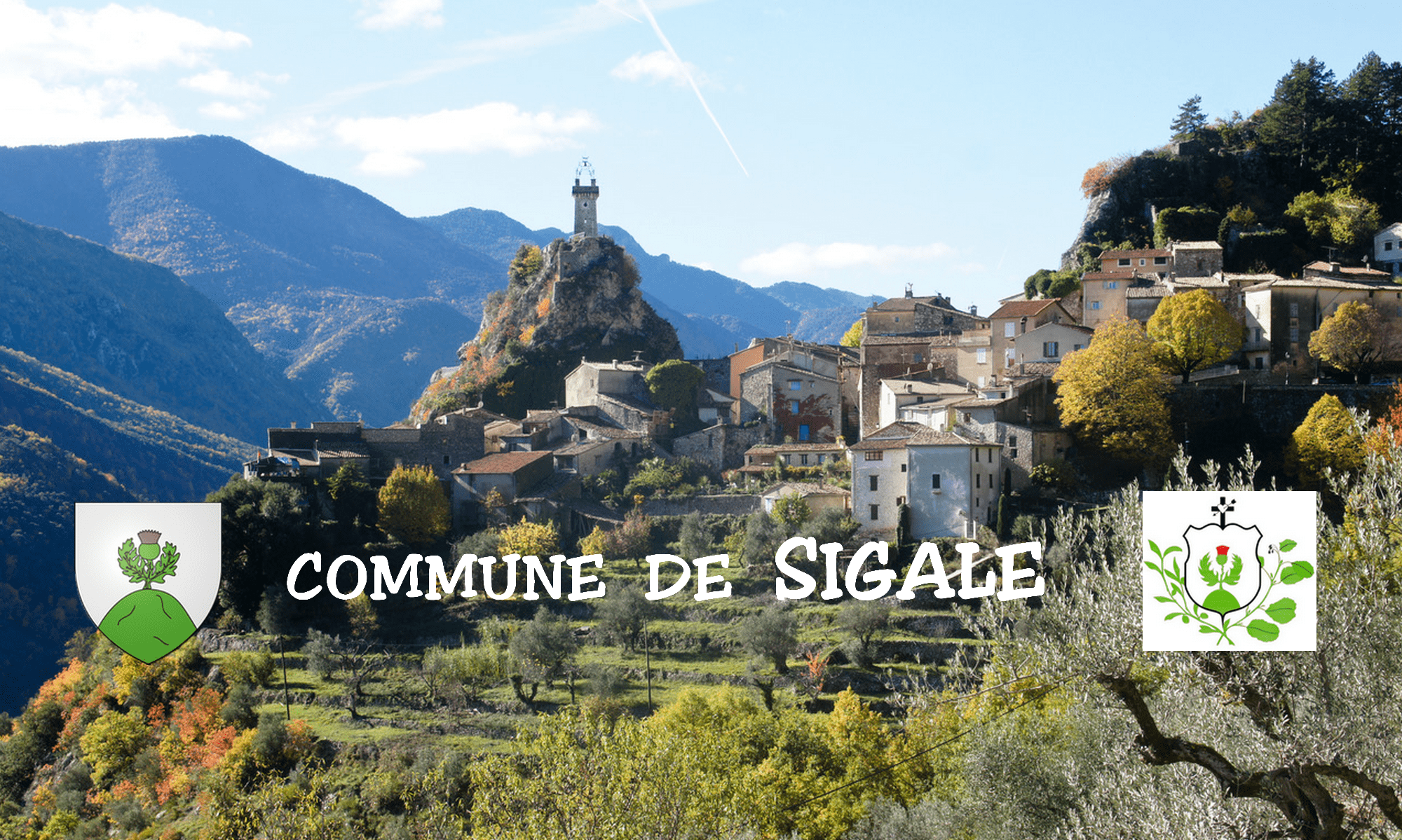 Commune de Sigale