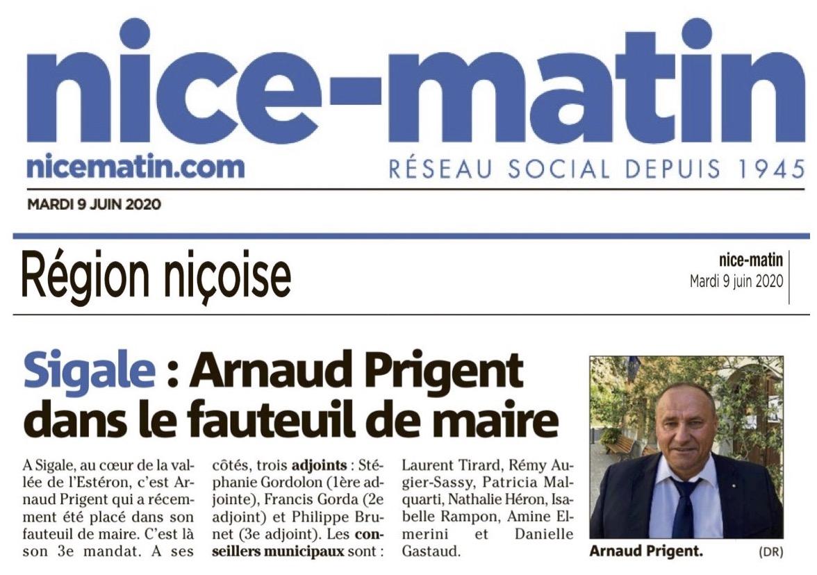 Arnaud PRIGENT Maire