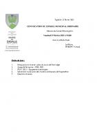 Convocation Conseil Municipal du 19.02.2021l