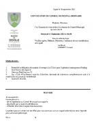 Convoc conseil municipal 15-09-2021